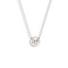 .48ct Old European Cut Diamond Pendant Necklace in 14kt WG 0
