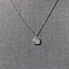 .64ctw Heart Askew Diamond Mosaic Pendant, White Gold Askew Pendant 6