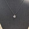 .64ctw Heart Askew Diamond Mosaic Pendant, White Gold Askew Pendant 12