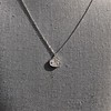 .64ctw Heart Askew Diamond Mosaic Pendant, White Gold Askew Pendant 1