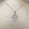 .64ctw Chandelier-Style Diamond Pendant 8