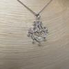 .64ctw Chandelier-Style Diamond Pendant 3