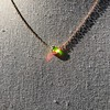 .65ct Pear Rose Cut Pendant, 18kt Yellow Gold 4