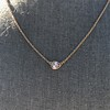 .65ct Pear Rose Cut Pendant, 18kt Yellow Gold 2