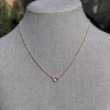 .65ct Pear Rose Cut Pendant, 18kt Yellow Gold 5