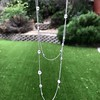 6.99ctw Old European Cut Platinum Diamonds-by-the-Yard Necklace 4