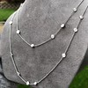 6.99ctw Old European Cut Platinum Diamonds-by-the-Yard Necklace 9