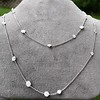 6.99ctw Old European Cut Platinum Diamonds-by-the-Yard Necklace 10