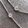 6.99ctw Old European Cut Platinum Diamonds-by-the-Yard Necklace 6