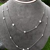 6.99ctw Old European Cut Platinum Diamonds-by-the-Yard Necklace 11