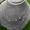 6.99ctw Old European Cut Platinum Diamonds-by-the-Yard Necklace 12