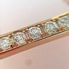 .77ctw 6-Stone Old European Cut Diamond Bar Pendant in Rose Gold 7