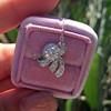 .82ctw Edwardian Bow Motif Diamond Pendant 14