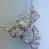 .82ctw Edwardian Bow Motif Diamond Pendant 2