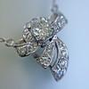 .82ctw Edwardian Bow Motif Diamond Pendant 10