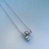 .82ctw Edwardian Bow Motif Diamond Pendant 4