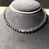 9.20ctw Victorian Riviere Diamond Necklace 6