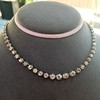 9.20ctw Victorian Riviere Diamond Necklace 24