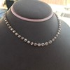 9.20ctw Victorian Riviere Diamond Necklace 26