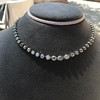 9.20ctw Victorian Riviere Diamond Necklace 22