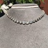 9.20ctw Victorian Riviere Diamond Necklace 28