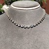 9.20ctw Victorian Riviere Diamond Necklace 2