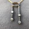 1.80ctw Antique Diamond and Sapphire Negligee Pendant 6