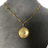 Antique French Locket and Fancy Chain 6