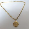 Antique French Locket and Fancy Chain 16