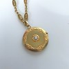Antique French Locket and Fancy Chain 5