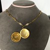 Antique French Locket and Fancy Chain 3