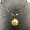 Antique French Locket and Fancy Chain 10