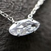 .53ct Antique Moval Cut Diamond Pendant, GIA J VS2 13