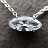 .53ct Antique Moval Cut Diamond Pendant, GIA J VS2 2