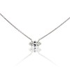 .53ct Antique Moval Cut Diamond Pendant, GIA J VS2 0
