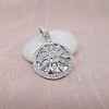 Flower Motif Diamond Locket 0