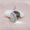 Flower Motif Diamond Locket 4