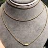 Georgian Period Barrel Clasp Chain 0