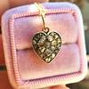 Georgian Rose Cut Diamond Pendant 17