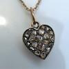 Georgian Rose Cut Diamond Pendant 13