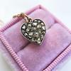 Georgian Rose Cut Diamond Pendant 16