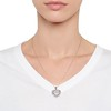 Heart Motif Diamond Locket 1