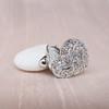 Heart Motif Diamond Locket 5