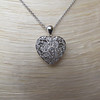 Heart Motif Diamond Locket 10