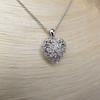 Heart Motif Diamond Locket 9