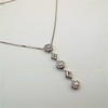 Lariat Style Diamond Necklace 3