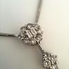 Lariat Style Diamond Necklace 22