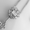 Lariat Style Diamond Necklace 5