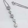 Lariat Style Diamond Necklace 10