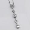 Lariat Style Diamond Necklace 9